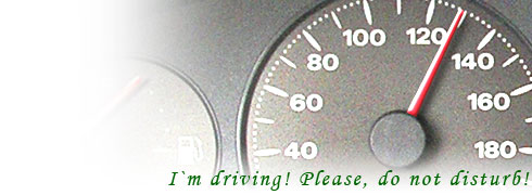 I am driving, please, Do Not Disturb!
